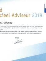 Erkend Financieel Adviseur 2019